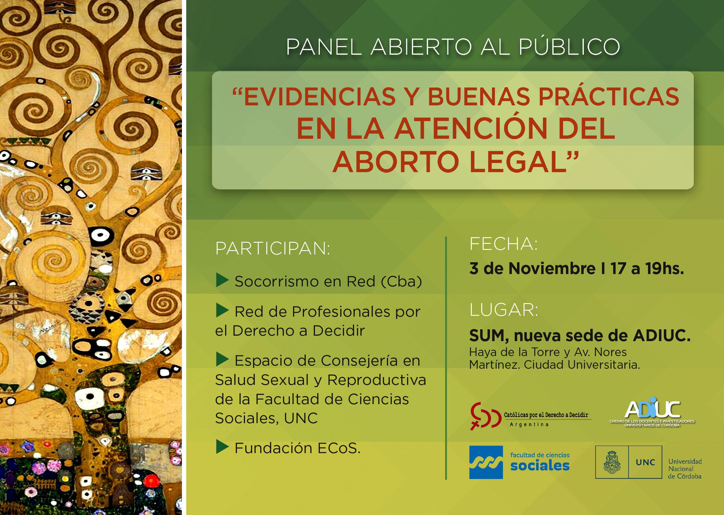 Evidencias y buenas prácticas en la atención del aborto legal