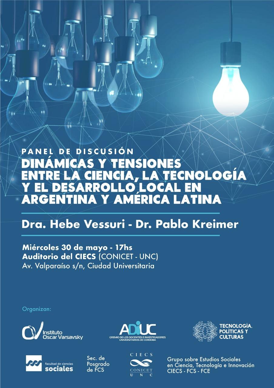 Hebe Vessuri y Pablo Kreimer | Panel sobre CyT en América Latina