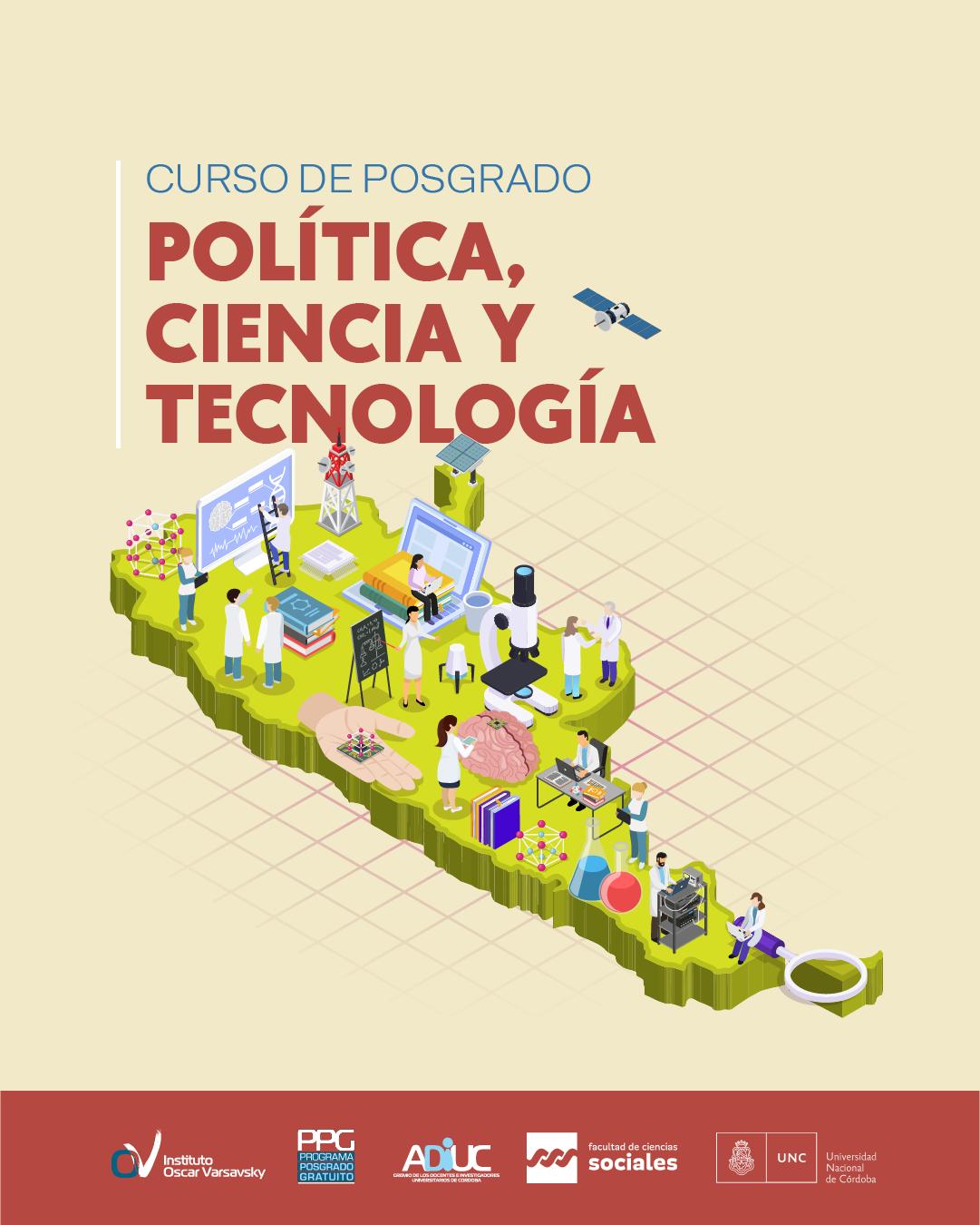 POLÍTICA, CIENCIA Y TECNOLOGÍA – Curso De Posgrado Gratuito